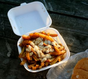 Popeye's Poutine - note the chunky curd